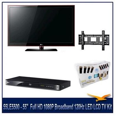 55LE5500 - 55`  1080p 120Hz LED Executive Kit