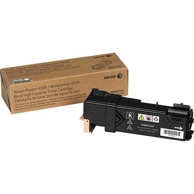 High Capacity Black Toner Cartridge for Phaser 6500 WorkCentre 6505 - 106R01597