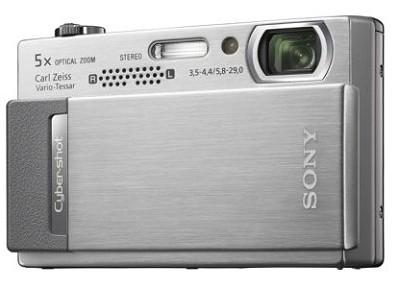 Cyber-shot DSC-T500 10.1 Megapixel Digital Camera - 3.5` Touchscreen (Silver)