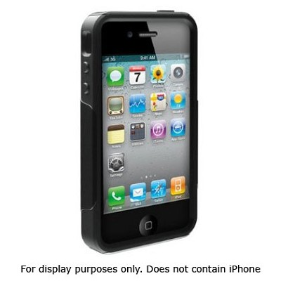 Commuter Case for iPhone 4 (Black)