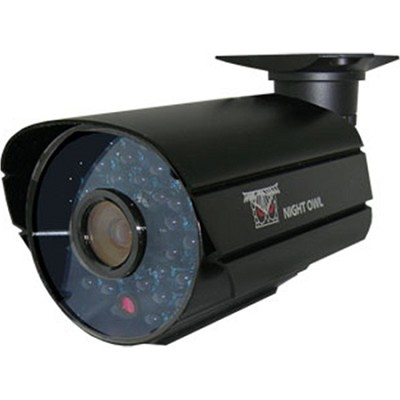 Hi-Resolution 600 TVL Security Camera with 36 Cobalt Blue LEDs