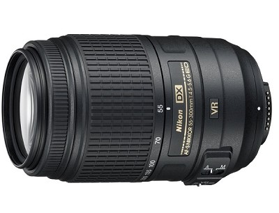AF-S DX NIKKOR 55-300mm f/4.5-5.6G ED VR Black Lens (2197) for Nikon Digital SLR