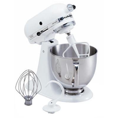 Artisan Series 5-Quart Tilt-Head Stand Mixer in White - KSM150PSWH