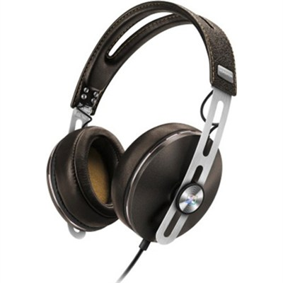 Momentum 2 Over Ear Stereo Headphones for Apple iOS Devices - Brown