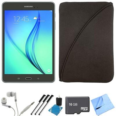Galaxy Tab A 9.7-Inch Tablet (16 GB, Smoky Titanium) 16GB Memory Card Bundle