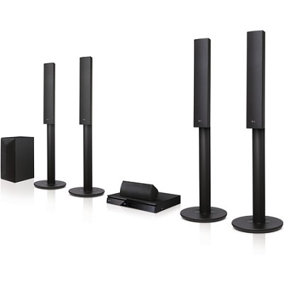 LHB655 5.1ch 1000W 3D Blu-ray Disc Player Home Theater System