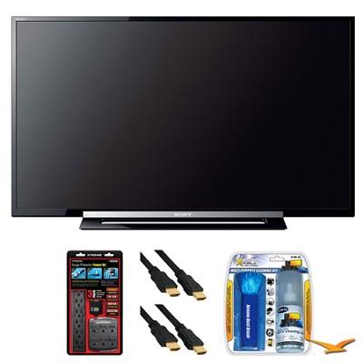 KDL-32R400A 32` R400A Series LED HDTV Surge Protector Bundle
