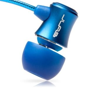 J3 Micro Atomic In-Ear Earphones with Travel Case (Electric Blue) 812887011129
