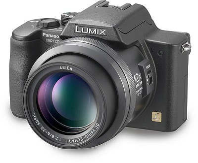 Lumix DMC-FZ20K Digital Camera (Black)