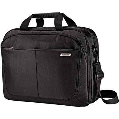 15.6` Two Gusset TSA Checkpoint Friendly Brief Computer Bag