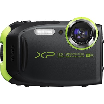 XP80 16MP Waterproof Digital Camera w/ 2.7-Inch LCD (Graphite Black) REFURBISHED