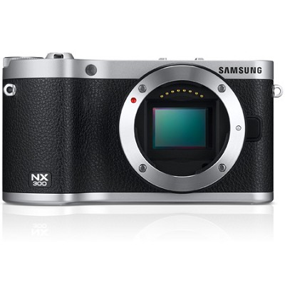 NX300 20.3 MP Digital Camera - Black - OPEN BOX