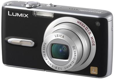 DMC-FX07 (Black) Lumix 7.2 megapixel Digital Camera w/ 2.5` TFT LCD