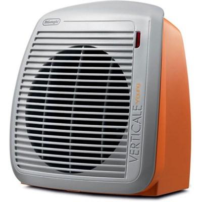 HVY1030 1500-Watt Fan Heater - Orange with White Face Plate