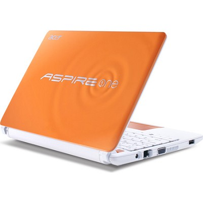 Aspire One HAPPY 2 10.1` Netbook PC (Orange) - Intel Atom N570 Dual-Core Proc.
