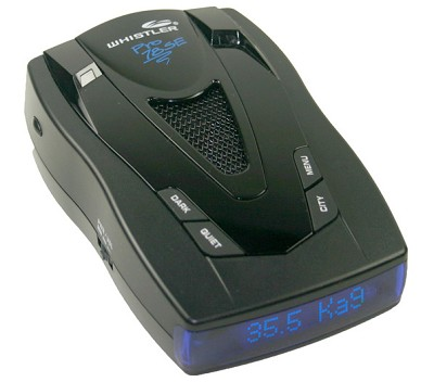 PRO-78 SE High-Performance Radar Detector with Blue Text Display