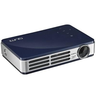 Qumi Q5 500 Lumen WXGA HD 720p HDMI 3D-Ready Pocket DLP Projector (BLUE)