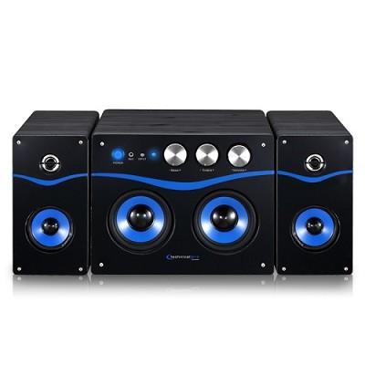Powered Bluetooth Loudspeaker Black/Blue - BLUET40