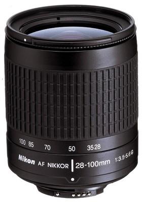 28-100mm F/3.5-5.6 G AF Zoom Nikkor Lens, With Nikon 5-Year USA Warranty