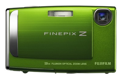 FinePix Z10fd 7.2MP Digital Camera (Green)
