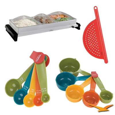 Professional Family-Size Stainless-Steel Buffet Server - Bundle