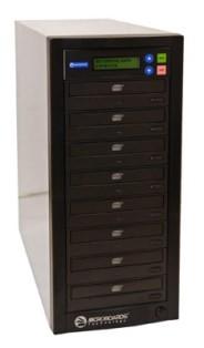Quic Disc DVD-127 Duplicator, 7(18X/48X) (- & +), Recorder, LCD, USB 2.0