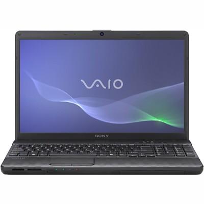 VAIO VPCEH27FX - 15.5 Inch Laptop Core i5-2430M Processor (Black)