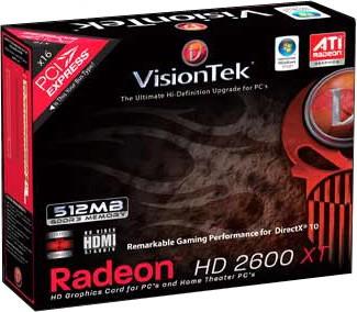 RADEON HD2600XT PCIE 512MB 2PORT DVI-I TV/HDTV OUT