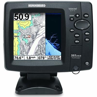 408120-1 - Fishfinder 597ci HD DI Combo