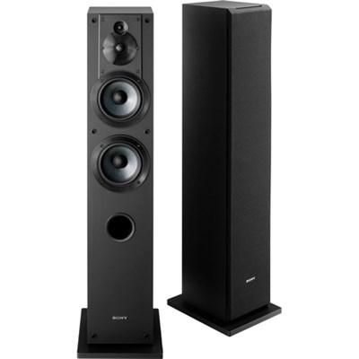 SS-CS3 3-Way 4-Driver Bass Reflex Stereo Floor-Standing Speaker - OPEN BOX