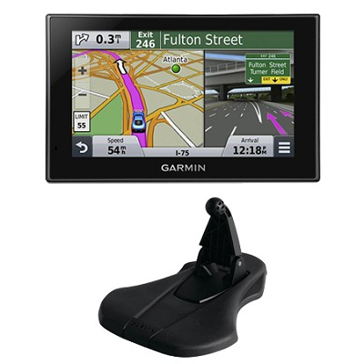 nuvi 2639LMT Advanced Series 6` GPS Navigation System Friction Mount Bundle