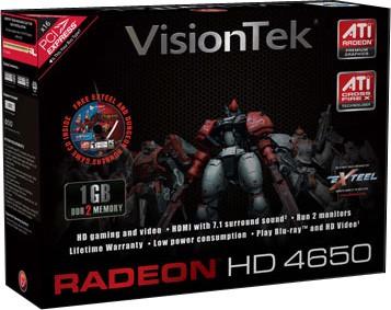 Radeon HD4650 1GB PCIe Model # 900252