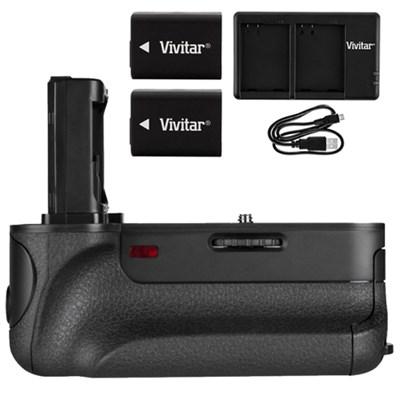PG-A7II Battery Grip for Sony A7R II, A7 II, A7S II w/ Accessories Bundle