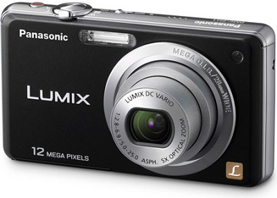 DMC-FH1K LUMIX 12.1 Megapixel Digital Camera (Black)