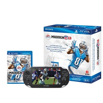PS Vita WiFi Madden NFL 13 Wi-Fi Bundle