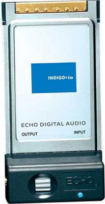 Indigo IO - 2 Input/2 Output CardBus Type II Laptop Computer Audio Playback Card