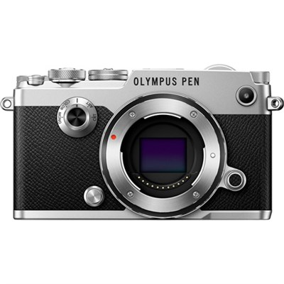 PEN-F 20MP Mirrorless Micro Four Thirds Digital Camera Body (Silver)
