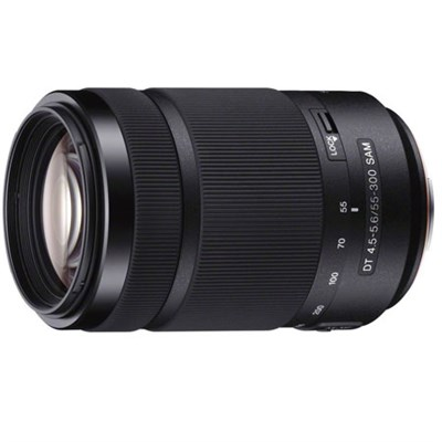 55-300mm DT f/4.5-5.6 SAM Telephoto Zoom A-Mount Lens - ***AS IS***