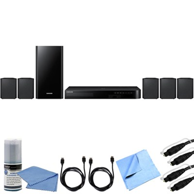 HT-J4500 - 5.1ch 500 Watt Smart 3D Blu-Ray Home Theater System Bundle
