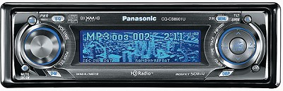 CQ-CB8901U In-Dash Receiver / CD player and HD Radio tuner w/ MP3/WMA playback