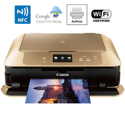 MG7720 Printer Scanner & Copier with Wi-Fi Airprint & Cloud Print Ready (Gold)