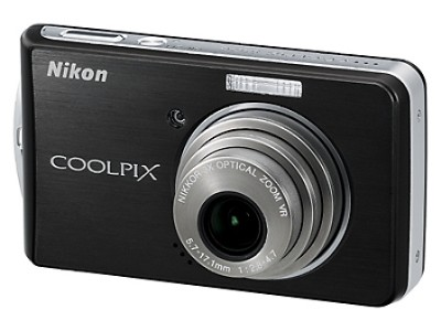 Coolpix S520 Digital Camera (Graphite Black)