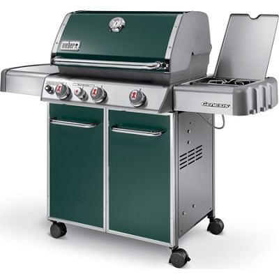 Genesis 6532001 E330 637-Square-Inch 38,000-BTU Liquid-Propane Gas Grill - Green