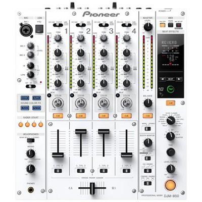 Multi Channel DJ Mixer - White- DJM-850-W