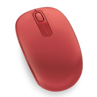 1850 Wireless Mobile Mouse in Flame Red - U7Z-00031
