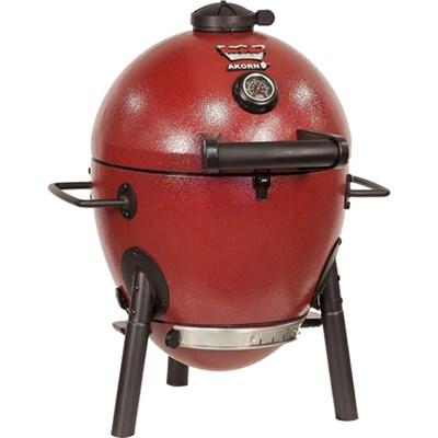 Akorn Jr. Kamado Kooker Charcoal Grill in Red (OPEN BOX)