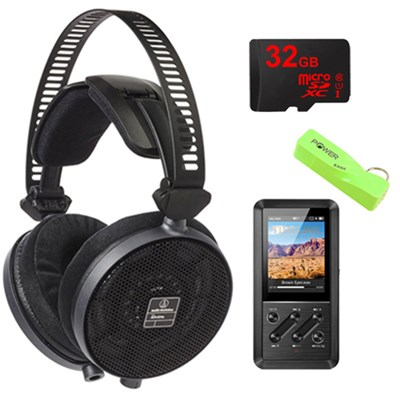 ATH-R70X Professional Open-Back Reference Headphones Ultimate Bundle