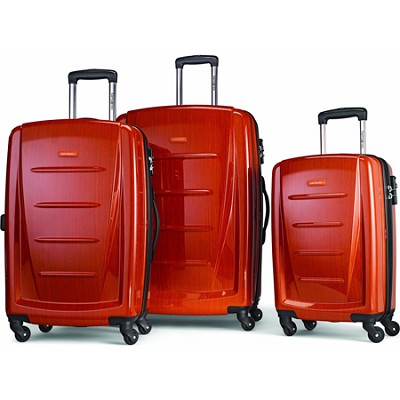 Winfield 2 Fashion Hardside 3 Piece Spinner Set Orange (56847-1641)