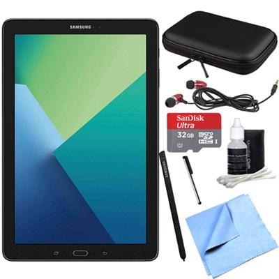 Galaxy Tab A 10.1 Tablet PC Black w/ S Pen, WiFi & Bluetooth w/ 32GB Card Bundle