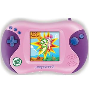 Leapster 2 Learning Game System - Pink